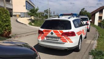 Polizei-Einsatz an der Kreisschule Dorneckberg in Büren