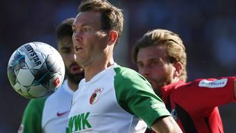 Spielt mittlerweile beim FC Augsburg: Nati-Captain Stephan Lichtsteiner, der am Freitag erstmals seit letztem März wieder ins Nationalteam berufen wurde.