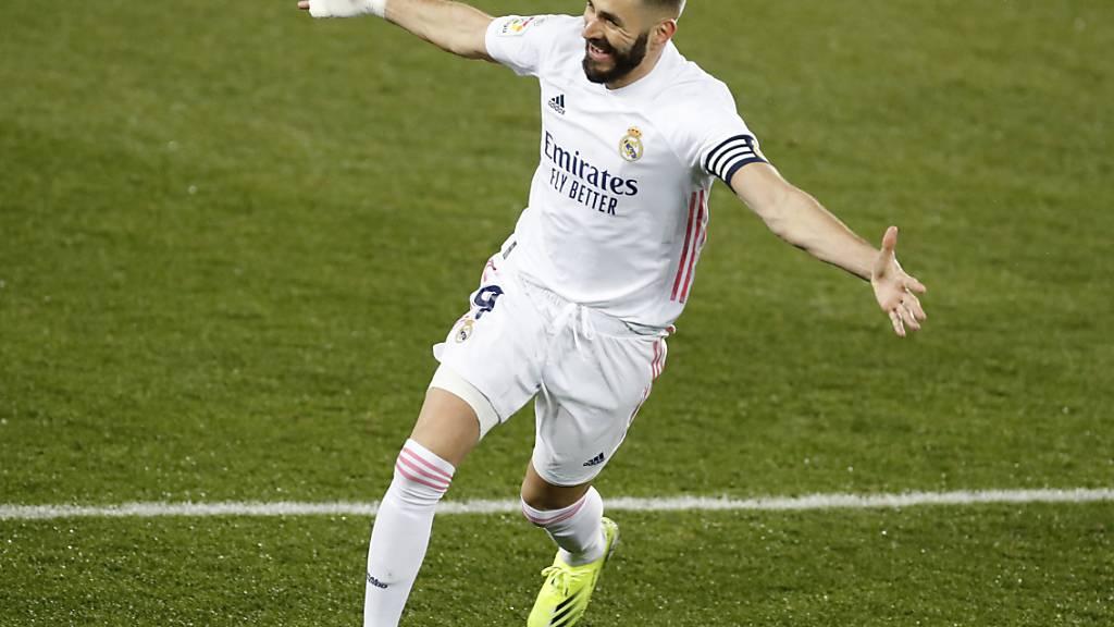 Problemloser Sieg von Real Madrid bei Alaves