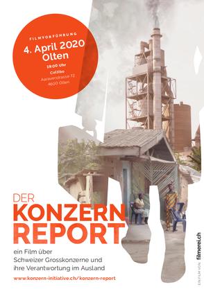 Filmvorführung «Der Konzern-Report» in Olten