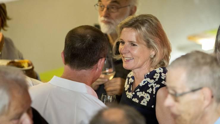 Grund zum Feiern: die gewählte Regierungsrätin Brigit Wyss.