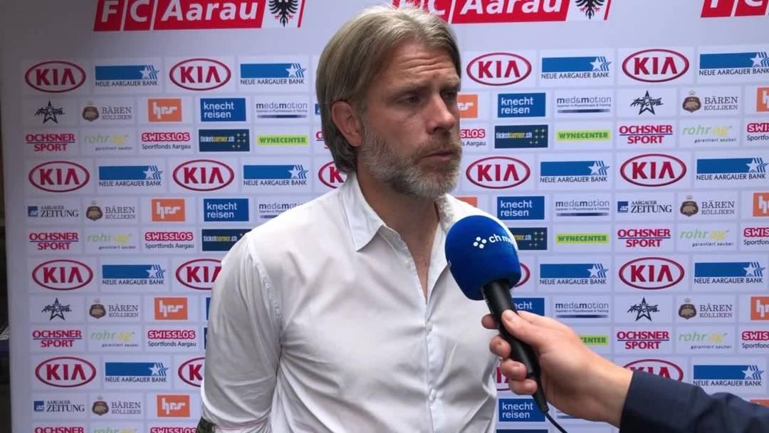 Interview mit Stephan Keller, Trainer FC Aarau