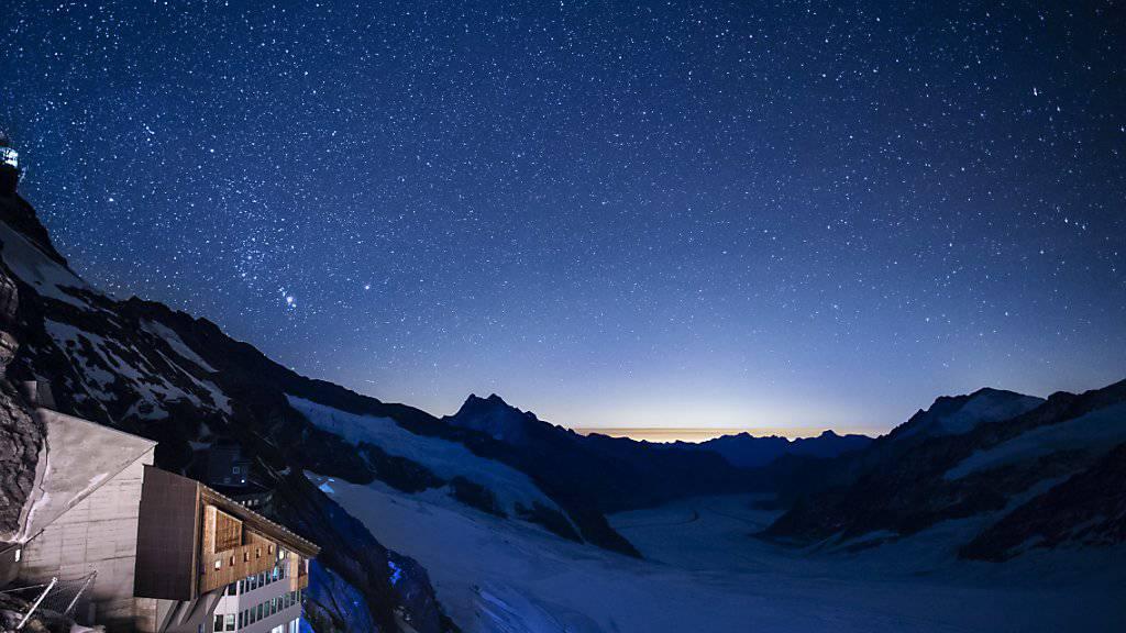 Arbeiter stirbt auf dem Jungfraujoch