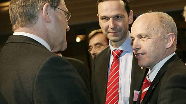 Ueli Maurer an der Konferenz in München