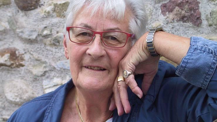 Ursula Gächter liebt es zu singen.
