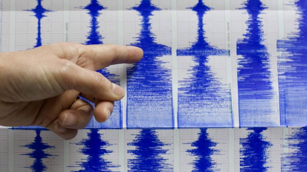 Ein starkes Erdbeben hat am späten Samstagabend Ortszeit die japanische Provinz Fukushima erschüttert. Das Beben hatte die Stärke von 7,1. Über Schäden oder Verletzte gab es zunächst keine Informationen. (Symbolbild)