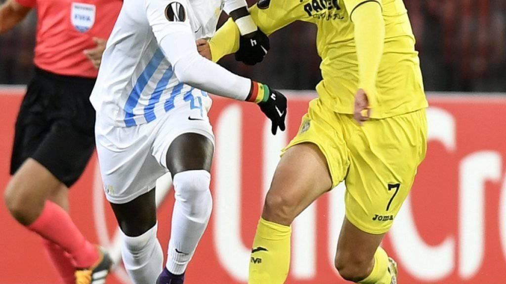 Der FC Zürich erkämpfte sich gegen Villarreal dank einer starken Schlussphase einen Punkt