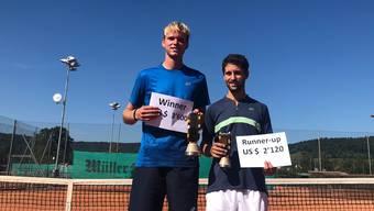 Final vom ITF Turnier in Schlieren