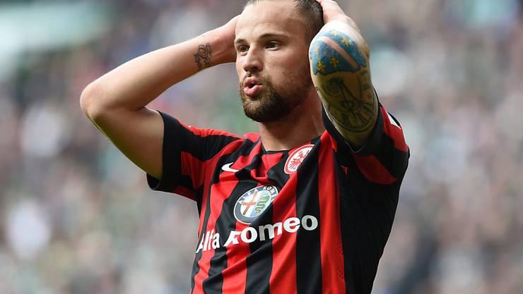 Haris Seferovic steckt mit Eintracht Frankfurt wie viele andere Schweizer Spieler in ausländischen Ligen im Abstiegskampf