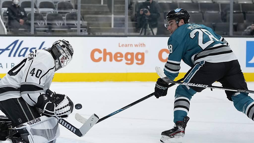 Sharks mit Meier erneut zu stark für die Kings