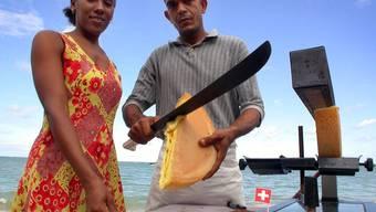 Gibt's trotz unserer Schweizer Präsenz nur sehr selten in der Dominikanischen Republik: Raclette.