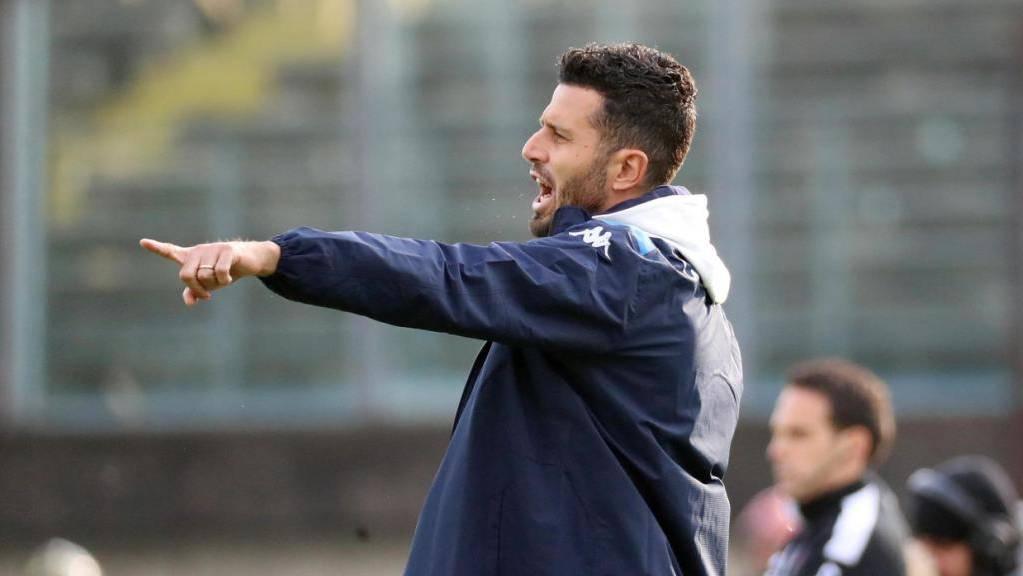 3 Spiele, 3 Niederlage lautet die ernüchternde Bilanz von Fabio Grosso als Trainer des Serie-A-Schlusslichts Brescia