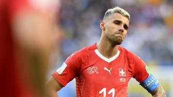 Valon Behrami wird nicht mehr für die Schweizer Nationalmannschaft auflaufen