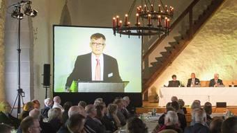 Die GV der AZ Medien auf Schloss Lenzburg