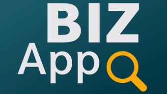 Das Logo der BIZ-App.