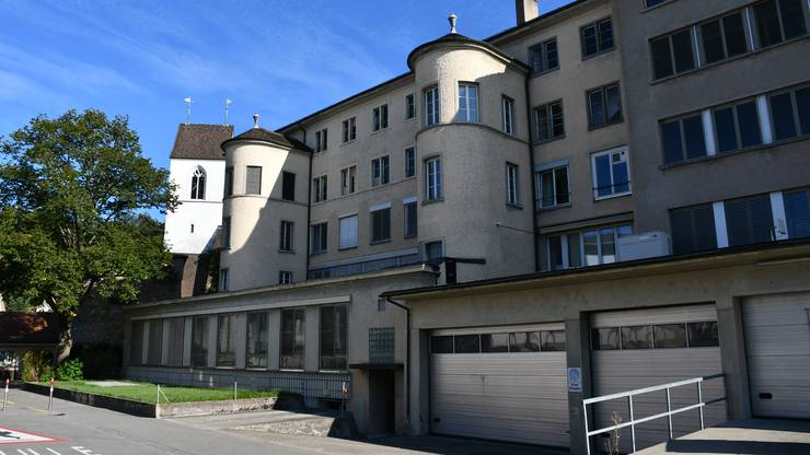 In diesen Teil des Effingerhofs zieht die Tanzschule. Den einen Turm kann sie mitnutzen.