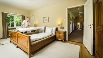 Das Anwesen von Werner Marti hat fünf Schlafzimmer und bietet Platz für zehn Personen.