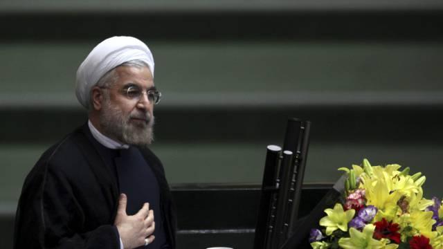 Frauenförderer: Irans Präsident Hasan Ruhani (Archiv)