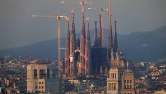 Die katalanische Islamisten-Terrorzelle plante auch einen Anschlag auf die römisch-katholische Sagrada Familia in Barcelona (in einer Aufnahme aus dem Jahr 2010).