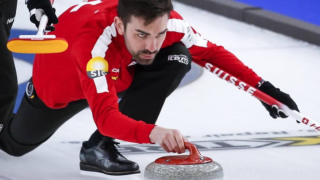 Schweizer Curler gewinnen auch drittes WM-Spiel