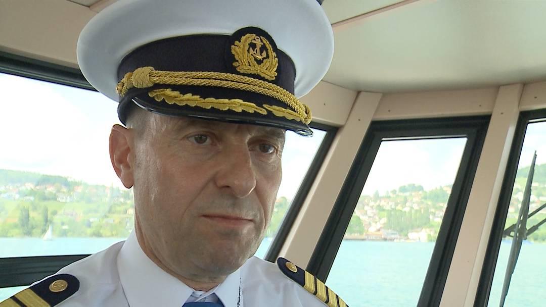 Ein Schiffs-Kapitän will in den Nationalrat