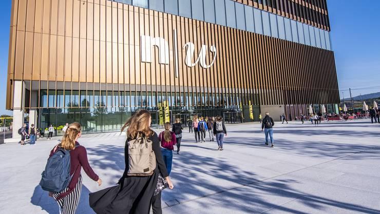 Im Bild: FHNW-Campus in Muttenz