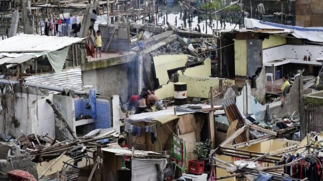Schäden durch den Taifun Taifun Haiyan auf den Philippinen (Archiv)