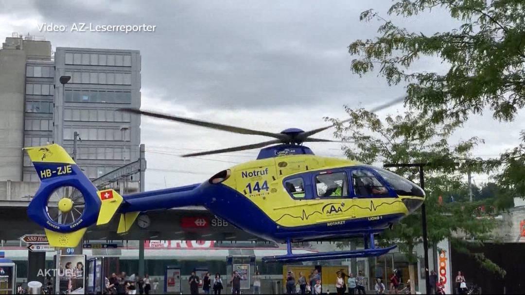 Brugg: Kind von Vater schwer verletzt