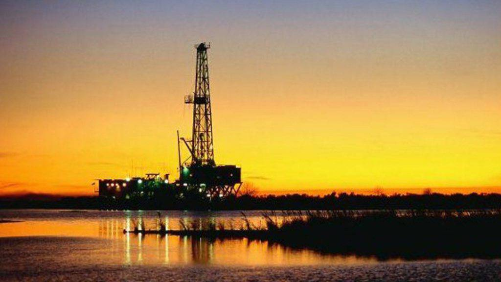 Pemex-Ölplattform in Mexiko: Vor allem einheimische Firmen sind bei der Versteigerung von Erdöl- und Gasfeldern zum Zuge gekommen. (Archivbild)