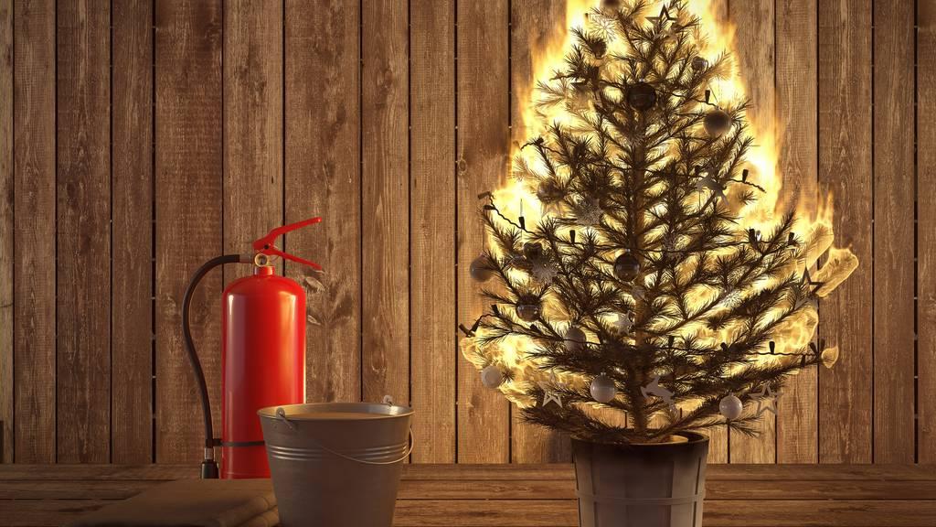 In St.Gallen brannten die meisten Christbäume