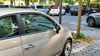 Die Schützi-Parkplätze werden vorerst nicht ins Parkleitsystem einbezogen.