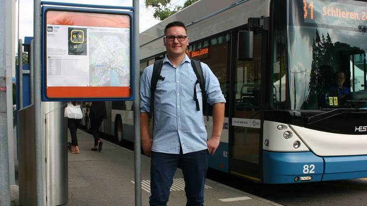 Der 29-jährige Daniel Behr entwickelt für die VBZ einen Dienstplan, der attraktiv für Teilzeit-Angestellte ist.