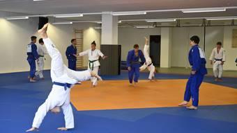 Trainingslager Judo des Regionalen Leistungszentrums Kt. Bern in Grenchen