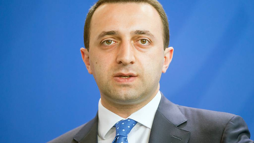 ARCHIV - Neuer Regierungschef von Georgien ist der frühere Verteidigungsminister Irakli Garibaschwili. Foto: picture alliance / dpa