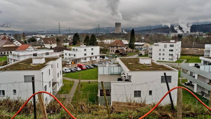 Gretzenbach mit Blick aufs AKW Gösgen