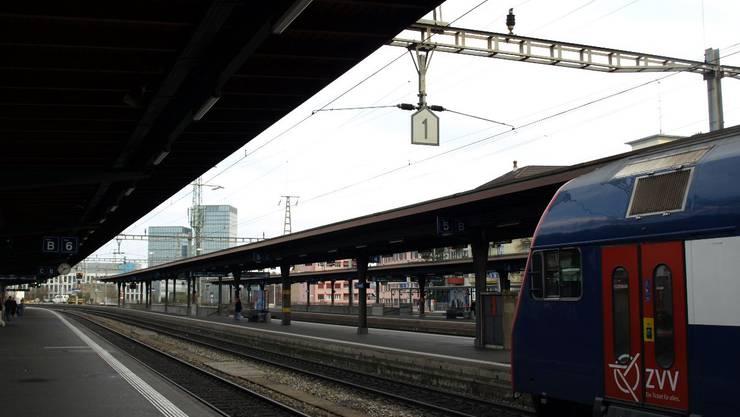 Der Bahnhof in Oerlikon