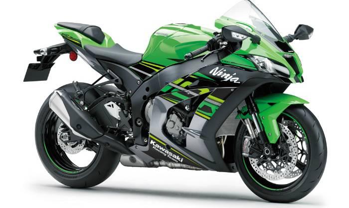 Mit einer solchen Kawasaki Ninja ZX 10R  (Symbolbild) raste ein Mann 2015 durch Anwil.