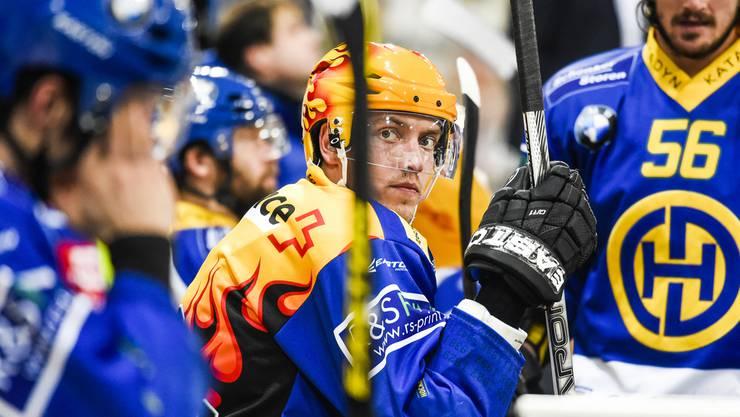 So gut wie noch nie: Perttu Lindgren führt die NLA-Skorerliste an.