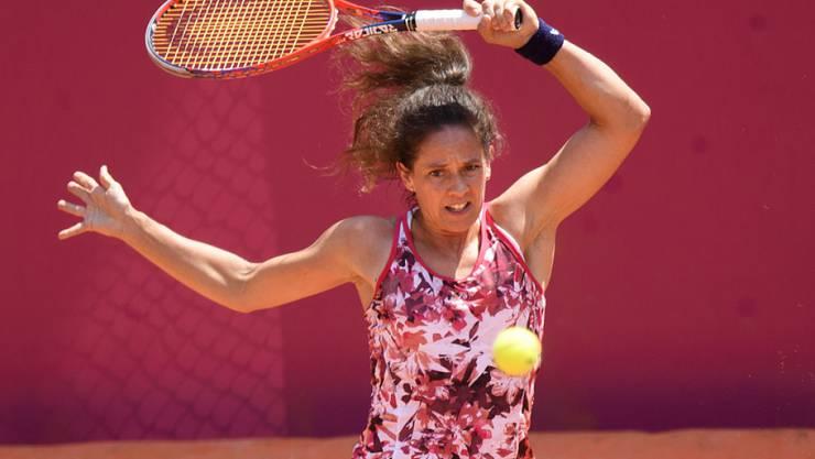 Auch mit 39 Jahren kann Patty Schnyder noch vorzüglich Tennis spielen