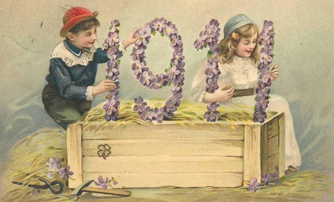 «Vergissmeinnicht» anno 1911. Diese Karte wurde im Januar dieses Jahres aus Genf an Familie Pfluger in Härkingen geschickt.