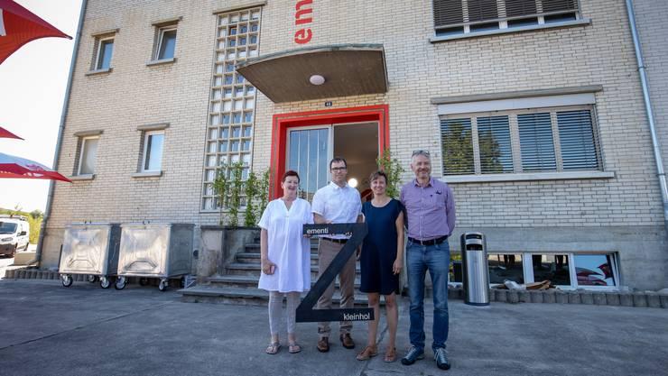 Von links Iris Schelbert, Thomas Küng, Patricia Stutzmann und Thomas Marbet.