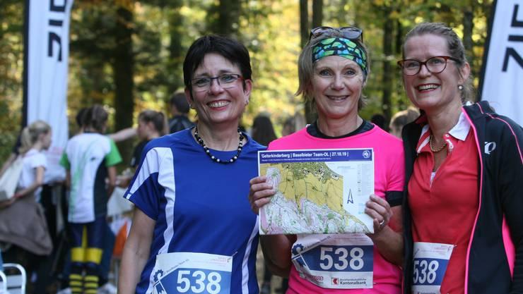 Elisabeth Augstburger (EVP), Maya Graf und Julia Gosteli (beide Grüne).