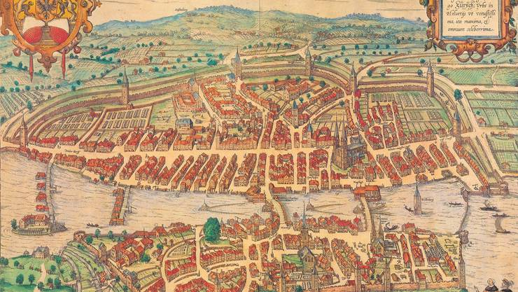 Historisches Bild von Zürich