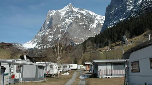 Camping Gletscherdorf in Grindelwald