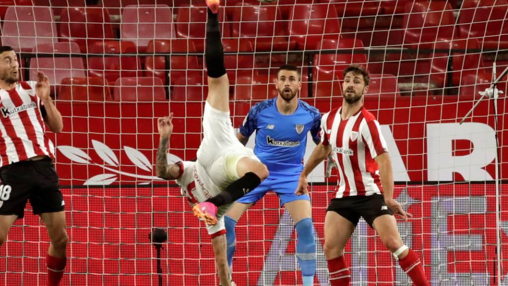 Der FC Sevilla bot zwar Spektakel, traf aber das Tor nicht