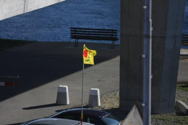 «Nein zur Atomkraft...» – es steckt auch politische Substanz in der Besetzungsaktion