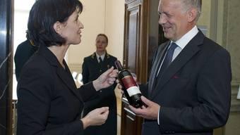 Das schenkte Doris Johann Schneider-Ammann zum Amtsantritt