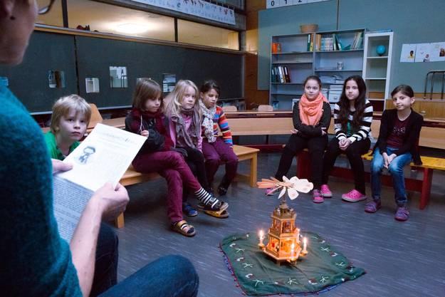 Advent in der Schule Wildbach