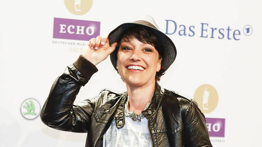 Moderatorin Miriam Pielhau bei der Ankunft zum Musikpreis Echo im März 2015 in Berlin.