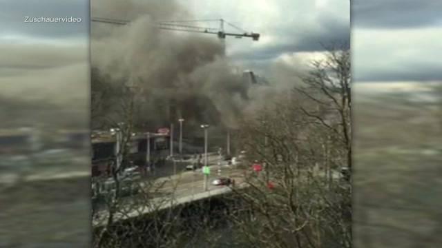 Brand beim HB Zürich